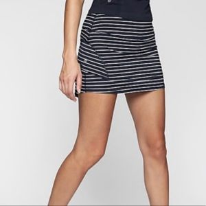 Athleta Stripe Stealth Skort Sport Tennis Skirt